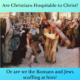 Is Christianity Hospitable to Christ?