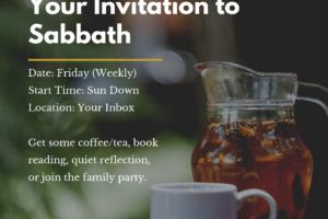 Invitation to Sabbath
