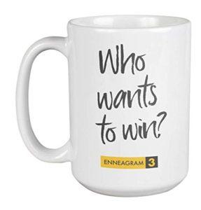 An Enneagram Type 3 mug