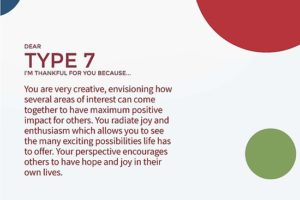 A picutre of being thankful for the healing of an Enneagram Type 7