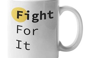 A mug for enneagram type 8's