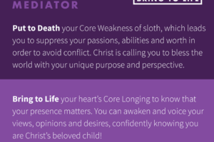 Insidious pain pictured from an Enneagram Type 9