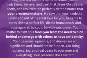 How the Enneagram Type 9 receives peace from the Gospel