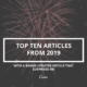 Top Ten Articles of 2019: Bet #13 will surprise you