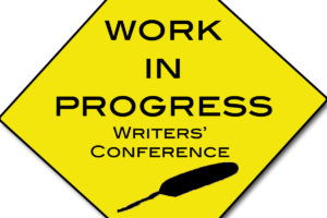 A sign depicting what a writers conference should have